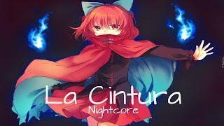 {Nightcore} Alvaro Soler - La Cintura [REMIX] ft. Flo Rida, TINI