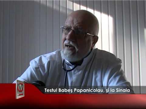 Testul Babeş Papanicolau, şi la Sinaia