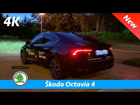 Škoda Octavia 4 Style 2020 - Quick look in 4K | Day - Night - Ambient Lights, LED Matrix Headlights