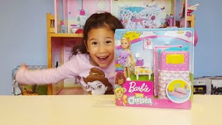 Barbie Club Chelsea Dolls and Playset | Unboxing Toy | Toy Review