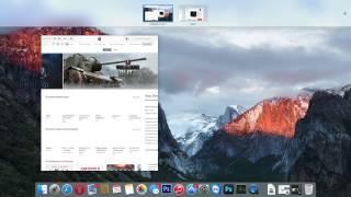 OS X 10.11 El Capitan - Split View 3