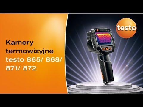 Termowizja w wersji Smart. Kamery termowizyjne testo 865-872