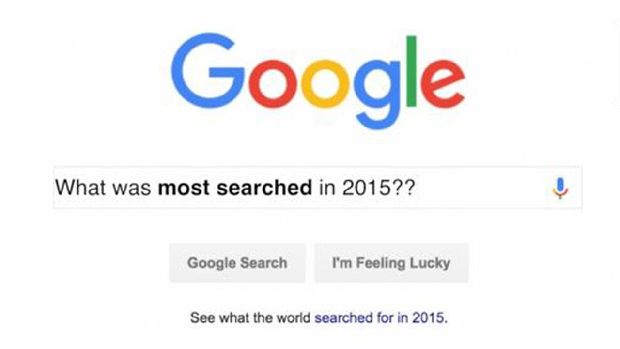 2015's Top 10 Google Searches thumbnail