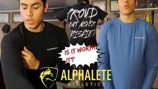 ALPHALETE HAUL/REVIEW   PBNS Shirt & Long sleeves  Day in the Life
