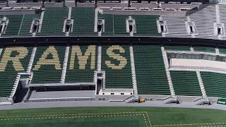 Top Gun cleans Colorado State University stadium