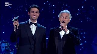 "Andrea E Matteo Bocelli Cantano ""Fall On Me""   David Di Donatello 2019"