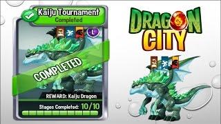 Dragon City - Kaiju Tournament [Full Unlock 2015]
