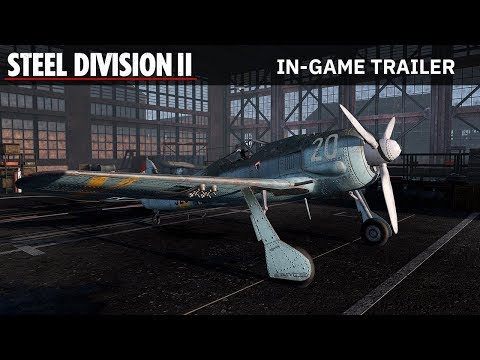 Steel Division 2 - In-Game Trailer thumbnail