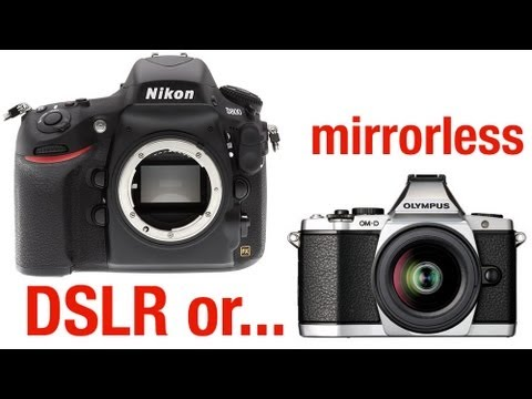 Mirrorless cameras are not for me