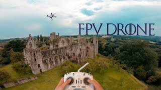 FPV Drone FREESTYLE Flying English Ruins!