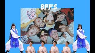BTS Being Best Friends (PT. 1)