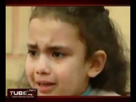 أطفال يبكون على مصطفى الصاوي(كان يحفظهم القرآن)