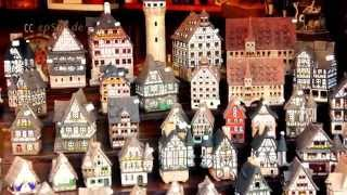 preview picture of video 'Nice Easter Market in Nuremberg of Europe'