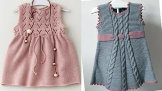 Stylish And Beautiful Hand Knitting Baby Sweaters Designs