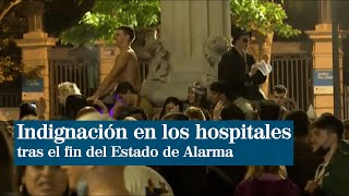 Los hospitales se llenan de indignación tras el fin del Estado de Alarma