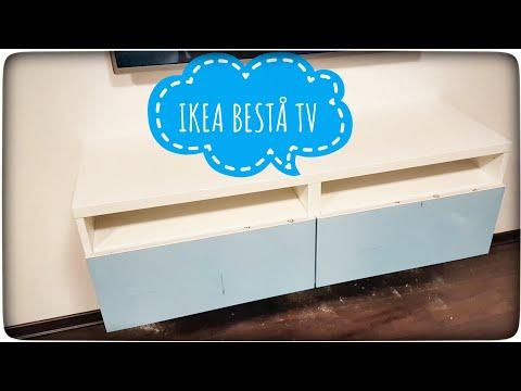 IKEA BESTÅ - szafka pod TV - instrukcja montaż