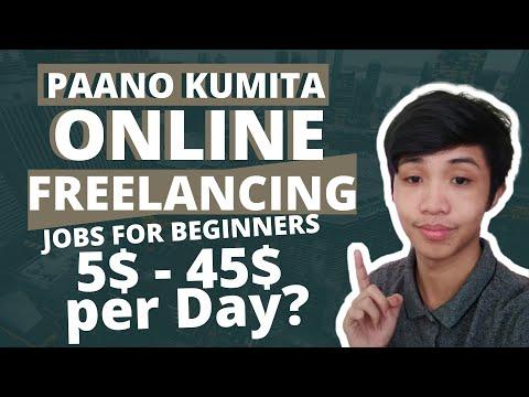 PAANO KUMITA ONLINE | FREELANCING JOBS FOR BEGINNERS | Austin Gabriel Diaz (2020)