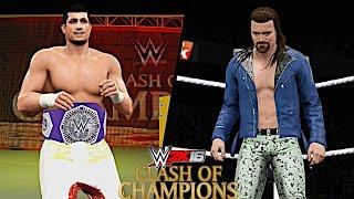 WWE Clash of Champions 2016: TJ Perkins vs Brian Kendrick (WWE Cruiserweight Championship)