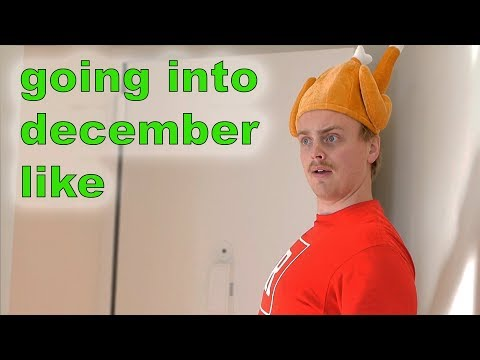 Going into December like