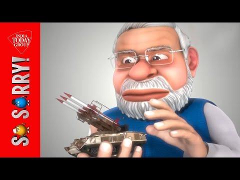 So Sorry: Indias first politoons - AajTak