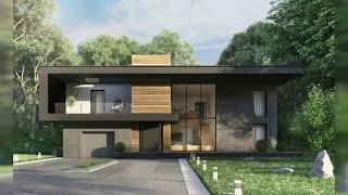 35 Stunning Modern Home Exterior Designs That Have Awesome Facades