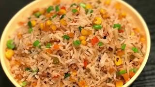 sweet corn fried rice | corn fried rice | How to make corn fried rice | Veg corn fried Rice