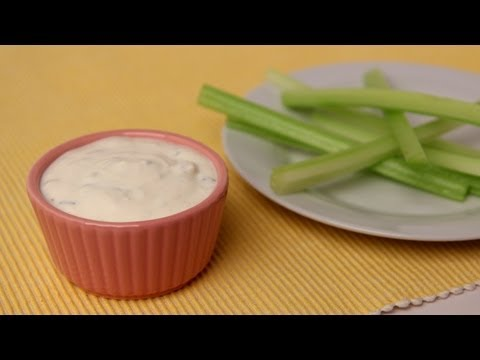 Homemade Blue Cheese Dressing Recipe – Laura Vitale – Laura in the Kitchen Episode 422