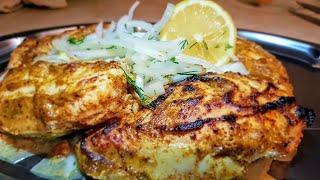 """Индийский шашлык """"Чикен тикка"""" Цыганка готовит. Куриный шашлык в духовке. Gipsy cuisine."""