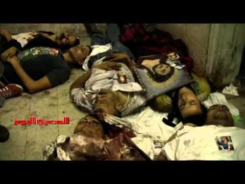 ضحايا «موقعة ماسبيرو» في المستشفى القبطي
