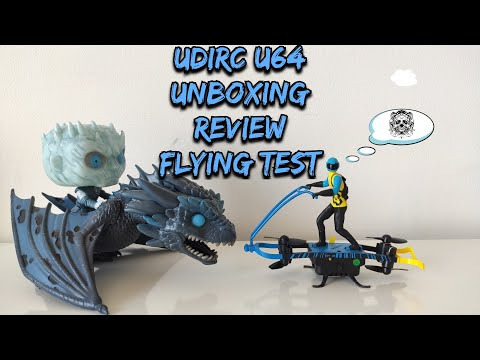 UDIRC U64 Drone Rc Multi-Fly Indoor , Unboxing, Review, Flying Test