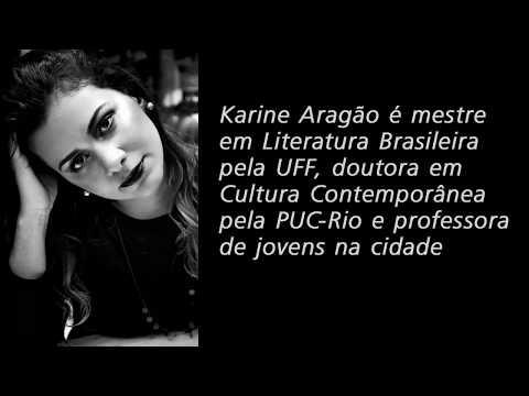Karine Aragão em entrevista para Daniel Dornelas