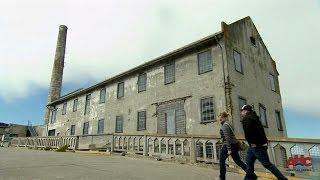 Alcatraz Federal Penitentiary - Structure