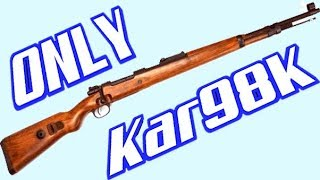 Kar98k  - (Girls' Frontline) - Kar98k only Mode In PUBG Mobile! Funny and LOL Gameplay