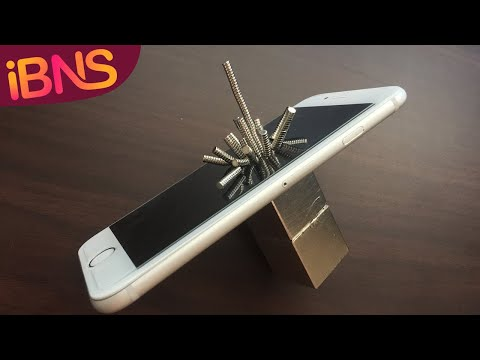 Super strong neodymium magnet vs  iPhone 6, what happens?