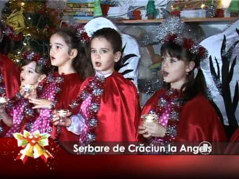 Serbare de Crăciun la Angels
