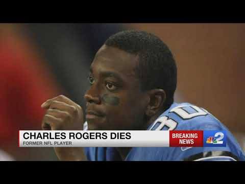 Former football star and Fort Myers resident Charles Rogers dies at 38