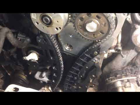 Фото к видео: Замена цепи ГРМ VW Tiguan 1.4 TSI