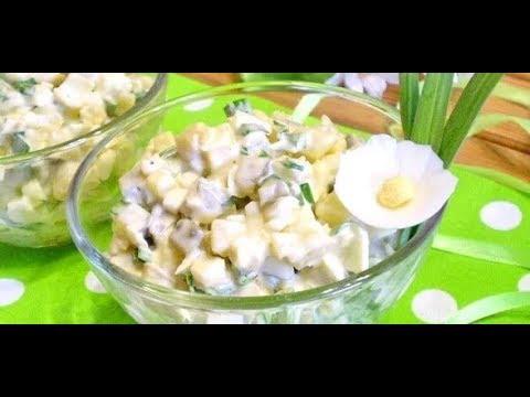 Салат из соленых огурцов и яйца к вареной картошке / от шеф-повара / Илья Лазерсон / Обед безбрачия