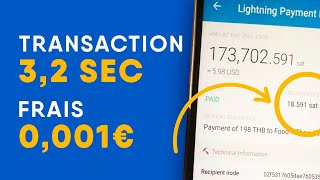 Une transaction Bitcoin en 3,21 secondes : Ligntning Network