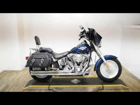 2004 Harley-Davidson FLSTF/FLSTFI Fat Boy® in Wauconda, Illinois - Video 1