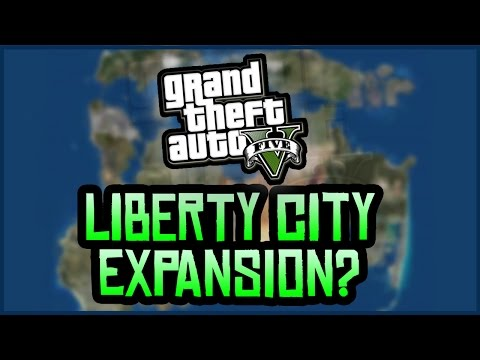 GTA 5 Liberty City Update: Online Map Expansion EXPLAINED! (GTA 5