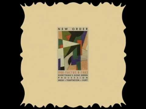 New Order factus 1981-1982 Temptation