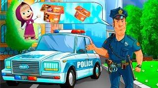 Машинки мультики Полицейская машинка Скорая помощь Видео для детей Анимашка Профессии для детей Игра