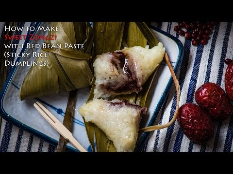 Sweet Zongzi (甜粽子)Sticky Rice Dumpling - DIY Kit