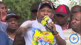 Sonko, Moses Kuria present Team Wanjiru political leaders in Jomvu,