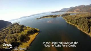 Derr Island Delta Shore Airpark waterfront property for sale in North Idaho