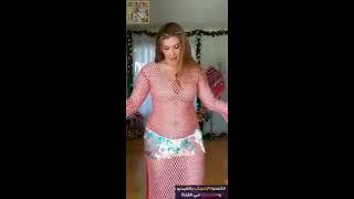 رقص مصري منزلى ملكة جمال مصر 2019