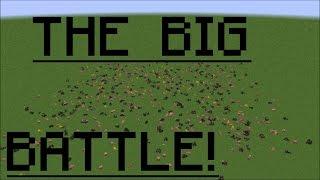 The Big Battle Minecraft Animation
