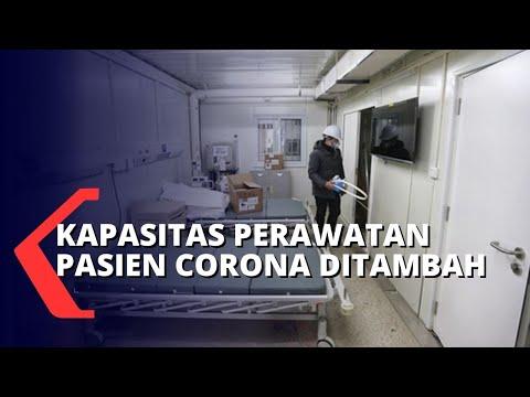 kapasitas perawatan pasien corona rs n djamil ditambah
