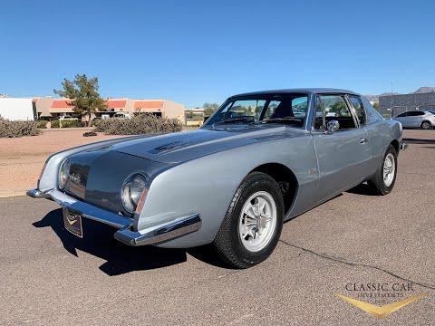 1963 Avanti R1 - Supercharged - Rare Magnesium Wheels - Only 63K Miles Survivor - SOLD!!